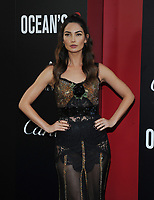 NEW YORK, NY - June 5: Lily Aldrige attends 'Ocean's 8' World Premiere at Alice Tully Hall on June 5, 2018 in New York City. <br /> CAP/MPI/JP<br /> &copy;JP/MPI/Capital Pictures