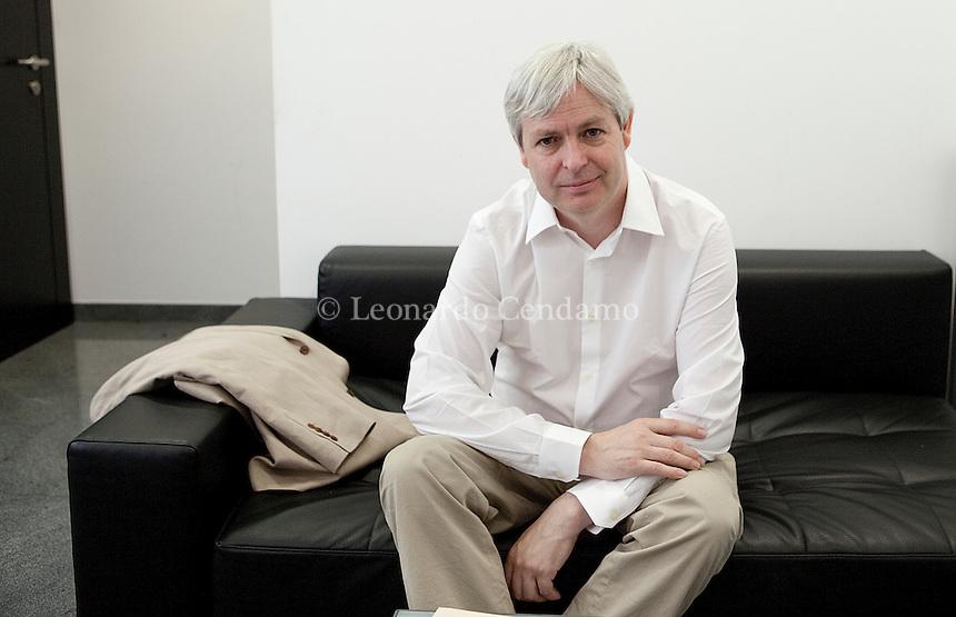 Jonathan Coe, writer, Milano 2010- Leonardo Cendamo © Leonardo Cendamo