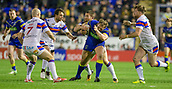 23rd March 2018, Halliwell Jones Stadium, Warrington, England; Betfred Super League rugby, Warrington Wolves versus Wakefield Trinity; Ben Westwood is tackled by Trinity
