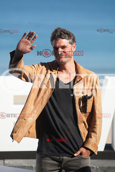 Manu Uranga poses during `Amama´ film presenation at 63rd Donostia Zinemaldia (San Sebastian International Film Festival) in San Sebastian, Spain. September 21, 2015. (ALTERPHOTOS/Victor Blanco) /NortePhoto.com