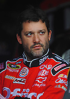 Oct. 30, 2009; Talladega, AL, USA; NASCAR Sprint Cup Series driver Tony Stewart during practice for the Amp Energy 500 at the Talladega Superspeedway. Mandatory Credit: Mark J. Rebilas-