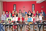 40th Birthday: Mary Walsh, Kenny Heights, Listowel, centre front, celebrating her 40th birthday with her family and friends at Fitgerald's Restaurant, Listowel on Saturday evening and afterwards at the Kingdom Bar, Listowel...Front: Eileen Long, Margaret Keane, Kitty White, Mary Walsh and James, Helena Barry, Michelle McCormack & Jim Keane. Back: Anne Deenihan, Phil Enright, Caterine Barry, Andrea Walsh, Clodagh Walsh, Bridget Molyneaux,Nora Leahy, Christina Buckley, Triona Kelly, Marie Walsh & Nicky White.