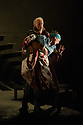 """London, UK. 02.03.2016. English Touring Opera presents """"Iphigenie en Tauride"""", by Christoph Willibald Gluck, directed by James Conway, with lighting design by Guy Hoare, at the Hackney Empire. Picture shows: Craig Smith (Thoas). Photograph © Jane Hobson."""