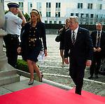 Joachim Gauck: Lunch at the Provincial Palace during the Commemoration of the 100th anniversary of the First World War, in Li&egrave;ge, Belgium, on August 4, 2014.<br /> <br /> Joachim Gauck: Lunch au Palais Provincial lors des comme&acute;morations organise&acute;es par le<br /> Gouvernement fe&acute;de&acute;ral belge a` l&rsquo;occasion<br /> du Centi&egrave;me anniversaire de la<br /> Premie`re Guerre mondiale, &agrave; Li&egrave;ge, Belgique. 4 Ao&ucirc;t 2014.