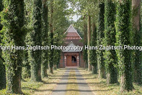 Typischer Artlandhof nahe Badbergen, Artland