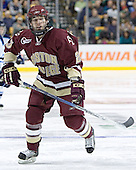 Brian O'Hanley - The Boston College Eagles defeated the University of Maine Black Bears 4-1 in the Hockey East Semi-Final at the TD Banknorth Garden on Friday, March 17, 2006.