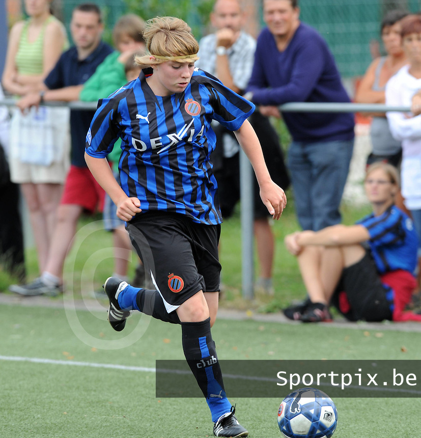 Dames Club Brugge : Joyce Vaernewyck.foto VDB / BART VANDENBROUCKE