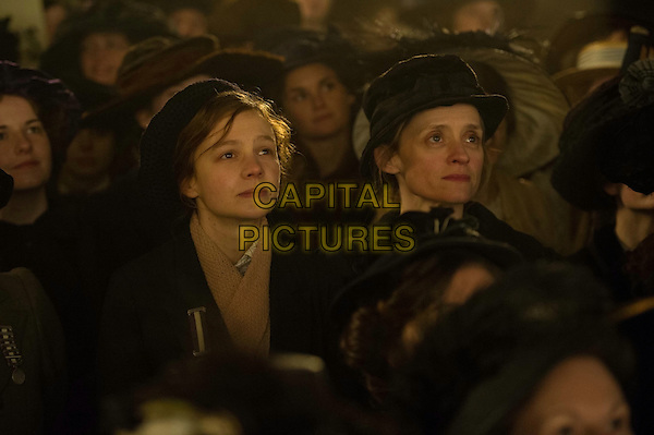 Suffragette (2015)<br /> Carey Mulligan, Anne-Marie Duff<br /> *Filmstill - Editorial Use Only*<br /> CAP/KFS<br /> Image supplied by Capital Pictures