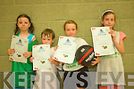 Enjoying Causeway Basketball Camp are Amy Martin, Harry Luck, Millie Luck and Caoimhe Fitzmaurice