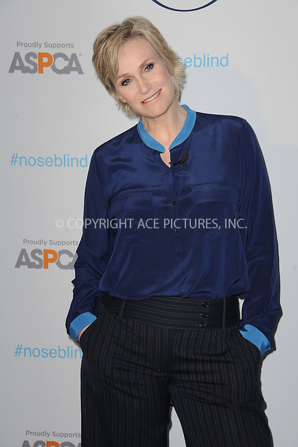 WWW.ACEPIXS.COM<br /> February 25, 2015 New York City<br /> <br /> Actress Jane Lynch joins Febreze, the ASPCA and the famous Instagram dog &quot;Toast&quot;, for a partnership announcement at 24th Street Loft on February 25, 2015 in New York City.<br /> <br /> Please byline: Kristin Callahan/AcePictures<br /> <br /> ACEPIXS.COM<br /> <br /> Tel: (646) 769 0430<br /> e-mail: info@acepixs.com<br /> web: http://www.acepixs.com