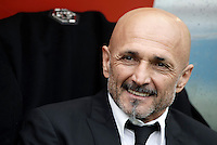 Roma&rsquo;s coach Luciano Spalletti waits for the start of the Italian Serie A football match between Roma and Napoli at Rome's Olympic stadium, 4 March 2017. <br /> UPDATE IMAGES PRESS/Isabella Bonotto