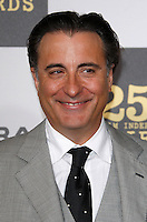 US actor Andy Garcia arrives at the 25th Independent Spirit Awards held at the Nokia Theater in Los Angeles on March 5, 2010. The Independent Spirit Awards is a celebration honoring films made by filmmakers who embody independence and originality..Photo by Nina Prommer/Milestone Photo