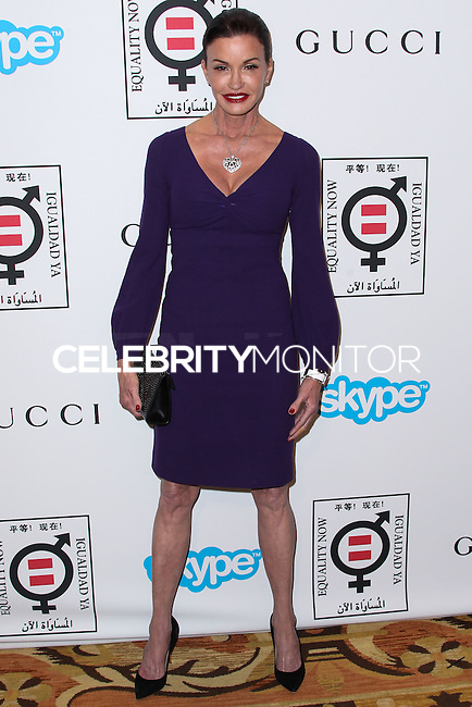 """BEVERLY HILLS, CA - NOVEMBER 04: Model Janice Dickinson arrives at the Equality Now Presents """"Make Equality Reality"""" Event held at the Montage Beverly Hills on November 4, 2013 in Beverly Hills, California. (Photo by Xavier Collin/Celebrity Monitor)"""