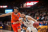 VALENCIA, SPAIN - 06/01/2016. Eurocup Last 32, Jornada 1, Pabellon Fuente de San Luis, Valencia, Spain.