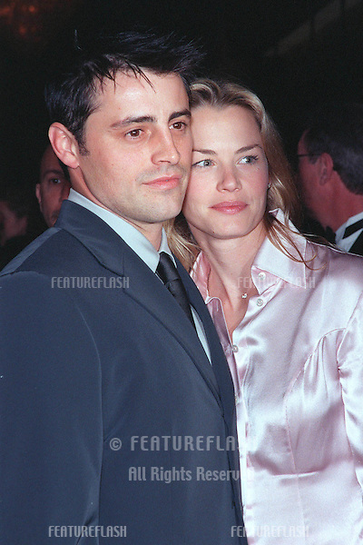 "04MAR99:  ""Friends"" star MATT LE BLANC & fiancée at charity event in Beverly Hills to benefit the St. Jude's Children's Research Hospital..© Paul Smith / Featureflash"