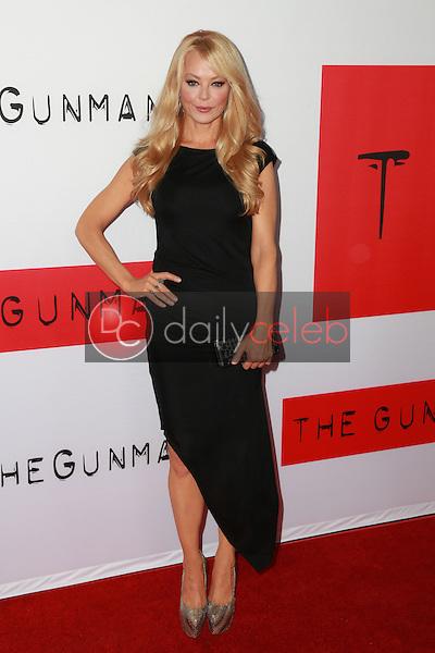 "Charlotte Ross<br /> at ""The Gunman"" Premiere, Regal Cinemas, Los Angeles, CA 03-12-15<br /> David Edwards/DailyCeleb.Com 818-249-4998"
