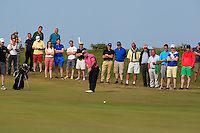 Paul O'Hanlon (Carton House) on the 18th green during Round 4 of the East of Ireland Amateur Open Championship sponsored by City North Hotel at Co. Louth Golf club in Baltray on Monday 6th June 2016.<br /> Photo by: Golffile   Thos Caffrey