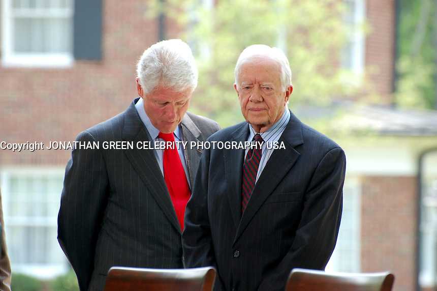 Bill Clinton &amp; Jimmy Carter<br /> 2007 By Jonathan Green