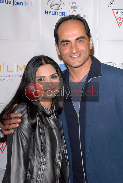 Ariana Mello, Navid Negahban<br /> at the Blue Tie Blue Jean Ball, presented by Austism Speaks, Beverly Hilton, Beverly Hills, CA 11-29-12<br /> David Edwards/DailyCeleb.com 818-249-4998