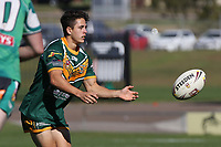 The Wyong Roos play Northern Lakes Warriors in Round 8 of the Reserve Grade Central Coast Rugby League Division at Morry Breen Oval on 27th of May, 2019 in Kanwal, NSW Australia. (Photo by Giselle Barkley/LookPro)