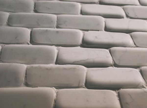 Giovanni Barbieri Timeworn Calacatta 2 x 4 in. bricks