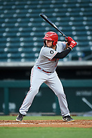 AZL Reds Wendell Marrero (31) at bat during an Arizona League game against the AZL Cubs 2 on July 23, 2019 at Sloan Park in Mesa, Arizona. AZL Cubs 2 defeated the AZL Reds 5-3. (Zachary Lucy/Four Seam Images)