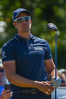 Henrik Stenson (SWE) watches his tee shot on 8 during Round 1 of the Zurich Classic of New Orl, TPC Louisiana, Avondale, Louisiana, USA. 4/26/2018.<br /> Picture: Golffile | Ken Murray<br /> <br /> <br /> All photo usage must carry mandatory copyright credit (&copy; Golffile | Ken Murray)