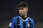 Alessandro Bastoni of Inter during the Coppa Italia match at Giuseppe Meazza, Milan. Picture date: 12th February 2020. Picture credit should read: Jonathan Moscrop/Sportimage