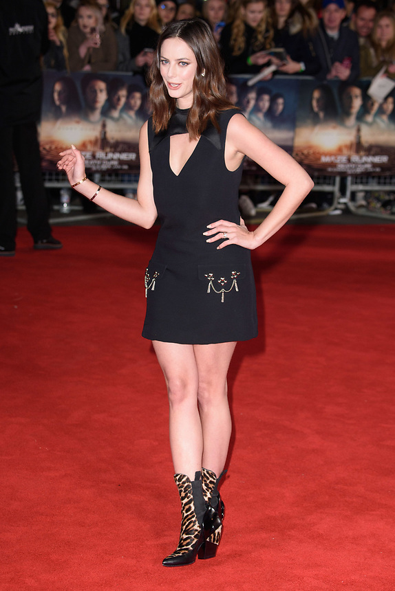 "Kaya Scodelario<br /> arriving for the ""Maze Runner: The Death Cure"" Fan Screening at the Vue West End, Leicester Square, London<br /> <br /> <br /> ©Ash Knotek  D3370  22/01/2018"