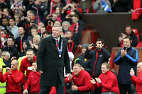 Pictured: Sir Alex Ferguson.<br /> Sunday 12 May 2013<br /> Re: Barclay's Premier League, Manchester City FC v Swansea City FC at the Old Trafford Stadium, Manchester.