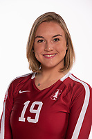 Stanford Volleyball W Portraits, August 10, 2018
