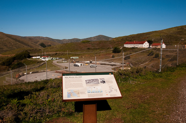Marin Headlands; sightseeing; Nike Missle Base, San Francisco, California, USA.  Photo copyright Lee Foster.  Photo # california107933