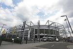 Geisterspiel, Aussenansicht Borussia Park in Moenchengladbach<br /><br />27.06.2020, Fussball, 1. Bundesliga, Saison 2019/2020, 34. Spieltag, Borussia Moenchengladbach - Hertha BSC Berlin,<br /><br />Foto: Johannes Kruck/POOL / via / Meuter/Nordphoto<br />Only for Editorial use