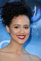 Nathalie Emmanuel at the season seven premiere for &quot;Game of Thrones&quot; at the Walt Disney Concert Hall, Los Angeles, USA 12 July  2017<br /> Picture: Paul Smith/Featureflash/SilverHub 0208 004 5359 sales@silverhubmedia.com