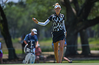 Nelly Korda (USA) after sinking her putt on 7 during round 1 of the 2019 US Women's Open, Charleston Country Club, Charleston, South Carolina,  USA. 5/30/2019.<br /> Picture: Golffile | Ken Murray<br /> <br /> All photo usage must carry mandatory copyright credit (© Golffile | Ken Murray)