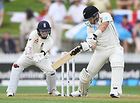 29th November 2019, Hamilton, New Zealand;  Ross Taylor batting on day 1 of the 2nd international cricket test match between New Zealand and England at Seddon Park, Hamilton, New Zealand. Friday 29 November 2019