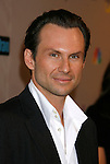 Actor Christian Slater arrives at the NBC Universal 2008 Press Tour All-Star Party at The Beverly Hilton Hotel on July 20, 2008 in Beverly Hills, California.