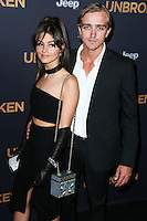 HOLLYWOOD, LOS ANGELES, CA, USA - DECEMBER 15: Sophie Dalah, Louis McIntosh arrive at the Los Angeles Premiere Of Universal Pictures' 'Unbroken' held at the Dolby Theatre on December 15, 2014 in Hollywood, Los Angeles, California, United States. (Photo by Xavier Collin/Celebrity Monitor)