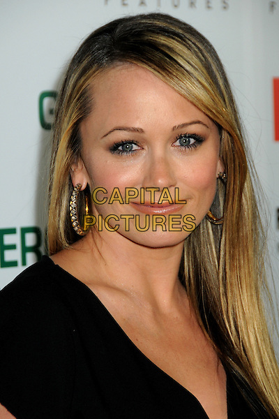 """CHRISTINE TAYLOR .""""Greenberg"""" Los Angeles Premiere held at Arclight Cinemas, Hollywood, California, USA..March 18th, 2010.headshot portrait black gold hoop earrings .CAP/ADM/BP.©Byron Purvis/AdMedia/Capital Pictures."""