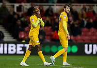 Preston North End's Daniel Johnson rues a missed opportunity<br /> <br /> Photographer Alex Dodd/CameraSport<br /> <br /> The EFL Sky Bet Championship - Middlesbrough v Preston North End - Tuesday 1st October 2019  - Riverside Stadium - Middlesbrough<br /> <br /> World Copyright © 2019 CameraSport. All rights reserved. 43 Linden Ave. Countesthorpe. Leicester. England. LE8 5PG - Tel: +44 (0) 116 277 4147 - admin@camerasport.com - www.camerasport.com