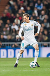 Marcos Llorente of Real Madrid in action during the Europe Champions League 2017-18 match between Real Madrid and Borussia Dortmund at Santiago Bernabeu Stadium on 06 December 2017 in Madrid Spain. Photo by Diego Gonzalez / Power Sport Images