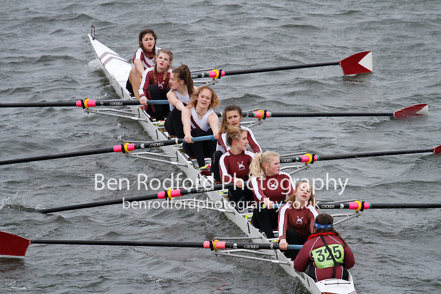 Crew: 325  St Georges Coll  Event: Girls J15 CHAMP eights<br /> <br /> Schools' Head of the River 2017<br /> <br /> To purchase this photo, or to see pricing information for Prints and Downloads, click the blue 'Add to Cart' button at the top-right of the page.
