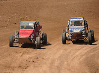 Apr 17, 2011; Surprise, AZ USA; LOORRS driver Kevin McCullough (389) and Dave Mason Jr (365) during round 4 at Speedworld Off Road Park. Mandatory Credit: Mark J. Rebilas-