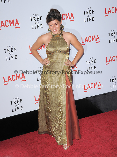 Q'orianka Kilcher  at The Fox Searchlight L.A. Premiere of The Tree of Life held at The Bing Theatre at LACMA in Los Angeles, California on May 24,2011                                                                               © 2011 Hollywood Press Agency