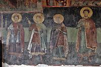 BG61210.JPG BULGARIA, BLACK SEA COAST, NESSEBAR, CHURCH OF ST STEPHAN, 10TH CENTURY, FRESCOS