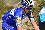 Julian Alaphilippe (FRA) Quick-Step Floors in action during the 104th edition of La Doyenne, Liege-Bastogne-Liege 2018 running 258.5km from Liege to Ans, Belgium. 22nd April 2018.<br /> Picture: ASO/Karen Edwards | Cyclefile<br /> <br /> <br /> All photos usage must carry mandatory copyright credit (&copy; Cyclefile | ASO/Karen Edwards)