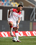 Kaan AYHAN (D) Aktion, <br /><br />Fussball 1. Bundesliga, 33.Spieltag, Fortuna Duesseldorf (D) -  FC Augsburg (A), am 20.06.2020 in Duesseldorf/ Deutschland. <br /><br />Foto: AnkeWaelischmiller/Sven Simon/ Pool/ via Meuter/Nordphoto<br /><br /># Editorial use only #<br /># DFL regulations prohibit any use of photographs as image sequences and/or quasi-video #<br /># National and international news- agencies out #