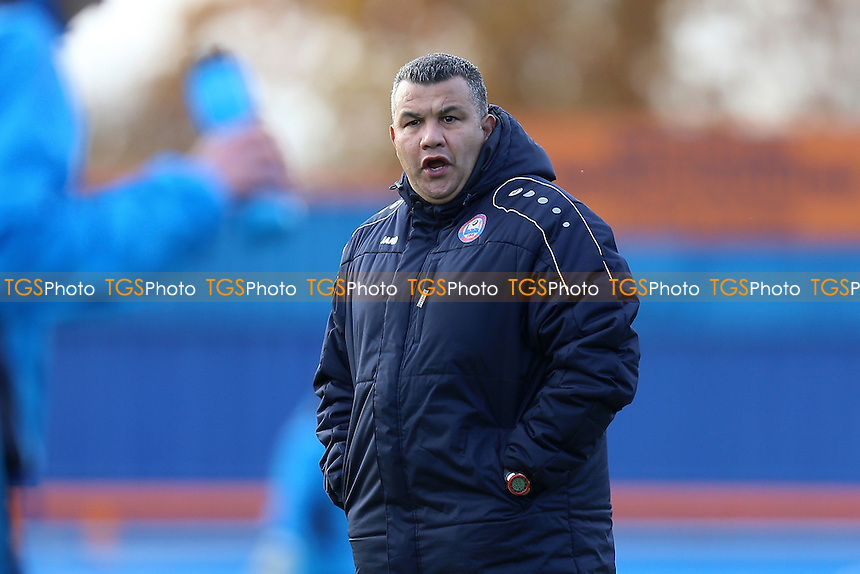 Braintree Town manager Hakan Hayrettin during Braintree Town vs Tranmere Rovers, Vanarama National League Football at the IronmongeryDirect Stadium on 19th November 2016