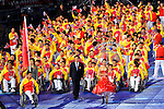 LONDON, ENGLAND 08/29/2012:  The People's Republic of China enter the stadium during Opening Ceremonies at the London 2012 Paralympic Games in the Olympic Stadium. (Photo by Phillip MacCallum/Canadian Paralympic Committee)