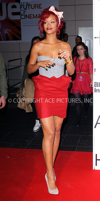 WWW.ACEPIXS.COM . . . . .  ..... . . . . US SALES ONLY . . . . .....November 4 2010, London....Rihanna arriving to turn on the Christmas lights at Westfield on November 4 2010 in London ....Please byline: FAMOUS-ACE PICTURES... . . . .  ....Ace Pictures, Inc:  ..Tel: (212) 243-8787..e-mail: info@acepixs.com..web: http://www.acepixs.com